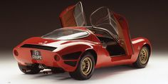 Alfa's upcoming mid-engine sports car might share its name with a race car from the 1930s, but it'll look a lot like something from 1967.