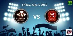 South Group - Surrey v Essex At Kennington Oval, London      T20 Cricket, Surrey, Broadway Shows, Group