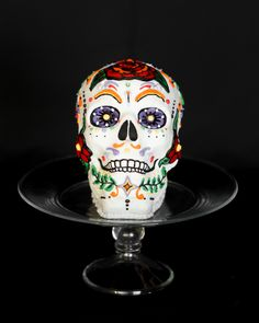 Dia de los Muertos Skull Cake - recipes and how-to's - thanks Williams-Sonoma!
