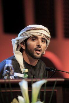 I love Hamdan bin Mohammed Al Maktoum, the Prince of Dubai