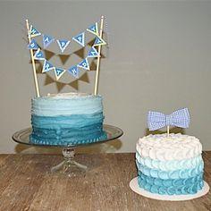 First Birthday Cake For Boy | Smash Cake | Lexi Westergard Design