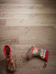 Starker Fußboden für die Großfamilie. Pflegeleicht, langlebig und robust.