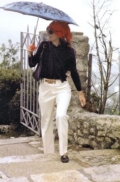 1970. Jackie in Greece.