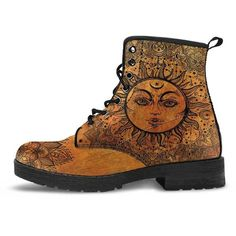 Sun & Moon BOOTS (1,755 MXN) ❤ liked on Polyvore featuring shoes, boots and moon boots