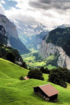 Eiger by rmzphoto, via Flickr.  Switzerland