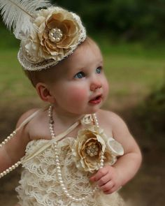 Hollywood Vintage Romper and Mini Top Hat Set by AdornedCreations, $44.99