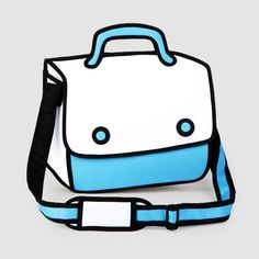 JumpFromPaper: série de bolsas que imita os traços e perspectivas típicos dos cartoons, criando um visual totalmente inusitado.