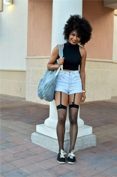 Excellent execution of shorts! collegefashionista.com