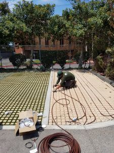 Retaining Walls Permeable Grass Pavers Erosion Control ACB System #specific #heat #of #granite http://dating.nef2.com/retaining-walls-permeable-grass-pavers-erosion-control-acb-system-specific-heat-of-granite/  # Drip Irrigation meets Drivable Grass® Drivable Grass® has originally been designed with the intention to have commonly used spray irrigation systems installed underneath the product, including fitting sprinkler heads through cut voids of the mat or spraying from outside the…