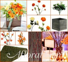 #centerpiece #fall wedding #afloral shop wedding flowers and wedding decorations www.afloral.com