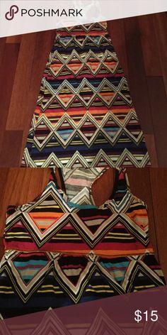 Banana republic maxi dress Super cute . Bright colors for summer . Re-sell perfect condition Banana Republic Dresses Maxi