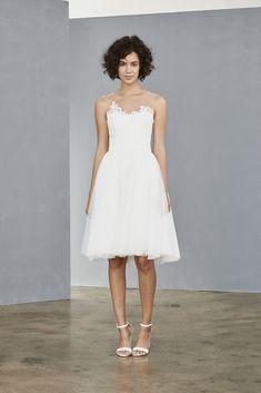 8b06512f8229 LW137 - Soft Tulle Dress Lace Bodice, Amsale Bridal, Amsale Bridesmaid,  Bridesmaids,