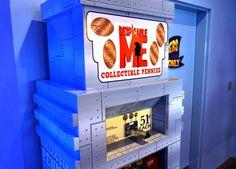 Pressed pennies at Universal Orlando.