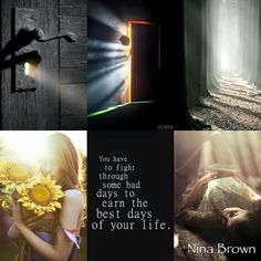 Nina Brown Good Thoughts, Positive Thoughts, Collages, Fashion Souls, Love Collage, Sweet Quotes, Inspirational Message, Color Of Life, Good Mood