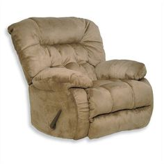 Catnapper Teddy Bear Oversized Chaise Swivel Recliner ($527) ❤ liked on Polyvore featuring home, furniture, chairs, recliners, beige, swivel recliner chairs, oversized recliner, oversized chaise, reclining computer chair and saddle chair