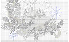 Snow Ball 4/4 [Pattern / Chart] [Christmas - Cross Stitch]