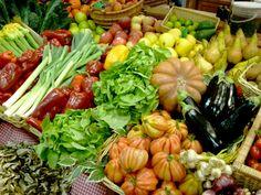 """Scegliere le verdure è un piacere, ancora di più quando sono così ben disposte... quando si dice """"anche l'occhio vuole la sua parte"""""""