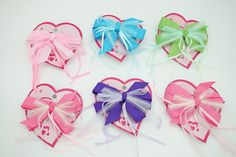 Satin Gingham Hair bow barrettes - 12 pcs *** Learn more by visiting the image link. How To Make Hair, Easy Projects, Gingham, Hair Bows, Hair Clips, Baby Shoes, Satin, Image Link, Ribbon Hair Ties