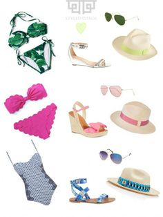 Chrissi Shields: Chrissi Loves: Beating the Heat, GREAT SUMMER SWIM COLLECTIONS