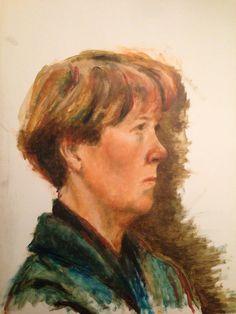 Marie van Beijnum. Olieverf. 2007