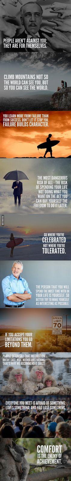 Egy kis gondolkodtató motivációs gyűjtemény :)