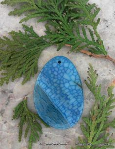 Blue Dragon Veins Agate Gemstone              117.0 carats                     CC-20473