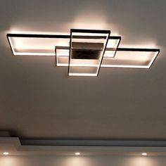 Contemporary ceiling light fixtures neo gleam rectangle aluminum modern led ceiling lights for livin Modern Led Ceiling Lights, Ceiling Lighting, Track Lighting, Lighting Ideas, Club Lighting, Outdoor Lighting, Ceiling Lamps, Floor Lamps, Kitchen Lighting