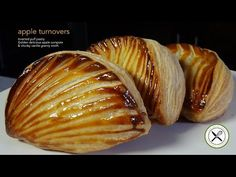 Learn how to make the true apple turnovers (Chaussons aux Pommes) using inverted…
