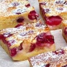 French Toast, Dessert Recipes, Food And Drink, Baking, Pastries, Breakfast, Women's Fashion, Drinks, Cherries