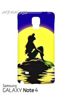 Ariel Little Mermaid Samsung Galaxy Note 4 Case