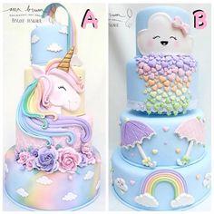 Unicorn Birthday Parties, Unicorn Party, Birthday Cake, Unicorn Cakes, Pony Cake, Barbie Cake, Cute Cupcakes, Novelty Cakes, Cake Creations
