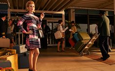 Mad Men's final season premiered on April Want to dive in, but haven't watched the first six seasons? What is Mad Men? Mad Men is a drama series on the basic. Mad Men Final Season, Season 7, Betty Draper, Don Draper, January Jones, Mad Men Fashion, Madison Avenue, Clothing Sites, Couture