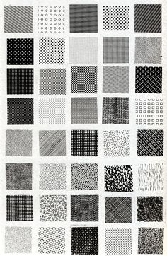 Toutes les tailles | Bruno Munari, esempi di textures | Flickr: partage de photos!