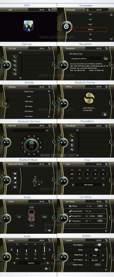 Mercado de accesorios OEM BMW X6 E71 Jefe Unidad sistema de navegación GPS con Ipod USB SD AUX Rearview CANBUS