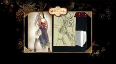 Arabia from Moulin Rouge! (2001) Costume design by Catherine Martin and Angus Strathie. Diamond Dogs Tango Underwear