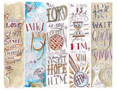 Lamentations 3:26 Bible Bookmark, Bible Study Group, Lamentations, Illustrated Faith, Erin Condren Life Planner, Bible Journal, To Color, Christian Inspiration, Bible Verses