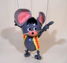 Hanna Barbera rare character Dixie the mouse. He is in excellent condition.original box also excellent.