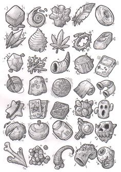 Sketches: Items by KupoGames gear icons buttons equipment magic items game user interface gui ui   Create your own roleplaying game material w/ RPG Bard: www.rpgbard.com   Writing inspiration for Dungeons and Dragons DND D&D Pathfinder PFRPG Warhammer 40k Star Wars Shadowrun Call of Cthulhu Lord of the Rings LoTR + d20 fantasy science fiction scifi horror design   Not Trusty Sword art: click artwork for source
