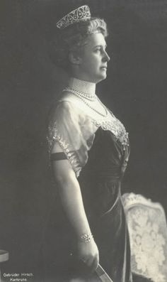 Hilda Charlotte Wilhelmine of Luxembourg, Grand Duchess of Baden