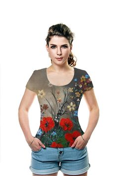 By Rhonda . All Over Printed Art Fashion T-Shirt by OArtTee
