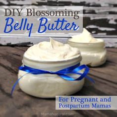 DIY Blossoming Belly Butter Recipe for Pregnant & Postpartum Mamas