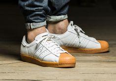 Adidas Superstar 80's DLX 'White/Gold Metallic' post image