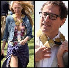 Who wore this Stephen Dweck necklace best: Blake Lively or her co-star?