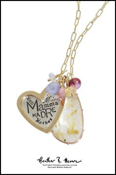 "#HeatherMooreJewelry ""Moore"" gift ideas for Mom!"