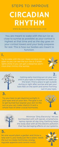 Circadian Rhythm is vital to your hormone creation and health. Learn how you can improve your internal clock.