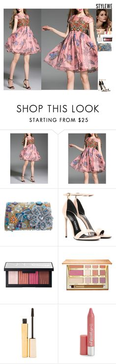 """""""Fairytale StyleWe"""" by eliza-redkina ❤ liked on Polyvore featuring Tom Ford, Beauty Secrets, NARS Cosmetics, tarte, Stila, Hard Candy and Aéropostale"""