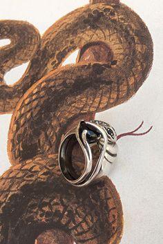 Silver #stacked #snakering 🐉  #IOSSELLIANI #iossellianipuro