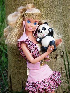 Animal Lovin Barbie. I remember wanting her so bad!