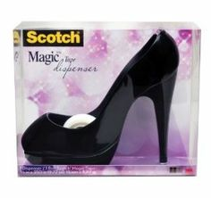 Scotch Shoe Dispenser with Magic Tape, Black, 3/4 x 350 Inches (C30-SHOE-B) $7.00 @ Amazon