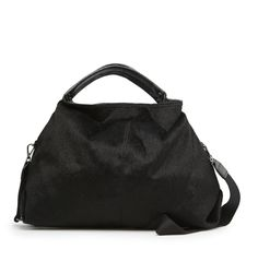Mango Faux Fur Hobo Bag ($80)